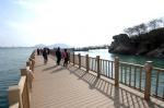 '목포 명물' 갓바위 해상보행교…내년 1월까지 통제