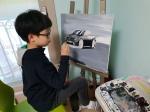 당진 기지초 현지호 학생, 車디자인 개인展 열어