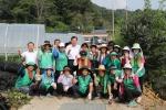 옥천군 생산적 일손봉사…농가·참여자 '윈윈'