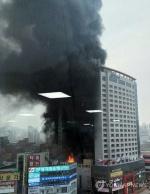 천안 라마다앙코르호텔 불…1명 사망·19명 부상