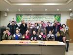 충남외국어교육원, 한 올 한 올 정성으로 뜬 '신생아 살리기 모자'