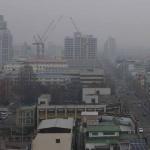 충북지역 초미세먼지 공습…연이틀 미세먼지 농도 매우 나쁨
