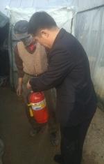 화재 없는 설연휴 유비무환…서천소방서 안전점검 나서