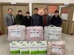 청주 일신여중 '사랑의 이불·화장지' 취약계층 4가구 전달