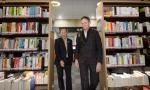 아드리안 구즈, 세종도서관 방문