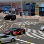 자율주행차 시범…5G로