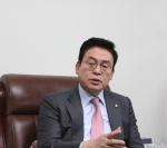 """한국당 당권 도전 정우택 """"보수통합으로 총선 승리 이끌것"""""""