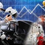 대전·충남 실물경제지표…악화일로 반복