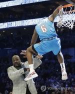 '오닐 넘은' 디알로, 새로운 NBA 덩크왕