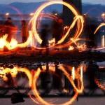 """""""액운 저 멀리""""…제23회 신탄진대보름쥐불놀이축제"""