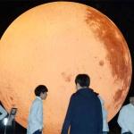 보름달 보셨나요? 대전시민천문대 대형보름달풍선