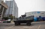 [북미회담 D-5] 소총 든 경찰기동대 이어 장갑차·군인도 경비 투입(종합)