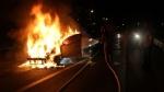 증평서 만취운전 추돌사고 낸 40대…피해차량은 화재
