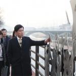 황인호 대전 동구청장, 인동 3·16만세로 광장 현장점검 나서