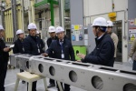 한전원자력연료 정상봉 사장, 시설물 안전점검