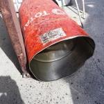 청주 자동차 서비스센터서 드럼통 폭발