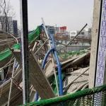 청주 옛 연초제조창 구조물 붕괴 인부 5명 부상… 인근 병원 치료