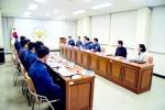 남택화 충북지방경찰청장, 영동경찰서 방문