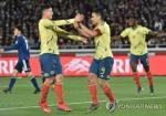 벤투호 상대할 콜롬비아, 일본에 1-0 승리…팔카오 PK골