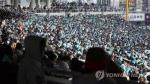 프로야구 개막일 최다 관중 신기록 '11만4천28명'(종합)