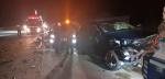 영동 경부고속도로서 차량 3대 연쇄 추돌