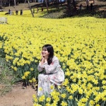 봄꽃 미소 '활짝'