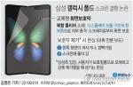 """삼성, 갤럭시 폴드 美 출시 연기 가능성…삼성 """"샘플 점검중""""(종합)"""