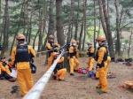 충북소방본부 광역119특수구조단, 괴산소방서와 합동훈련