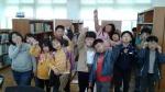 영동 부용초, 세계 책의 날 기념 도서관 행사